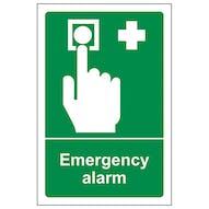 Emergency Alarm - Portrait