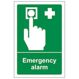 Emergency Alarm - Portrait