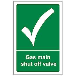 Gas Shut Off Valve - Portrait