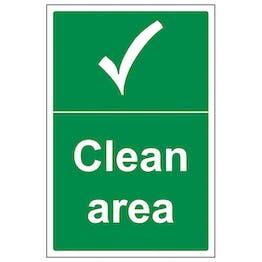 Clean Area - Portrait