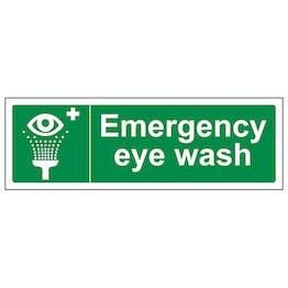 Emergency Eye Wash - Landscape