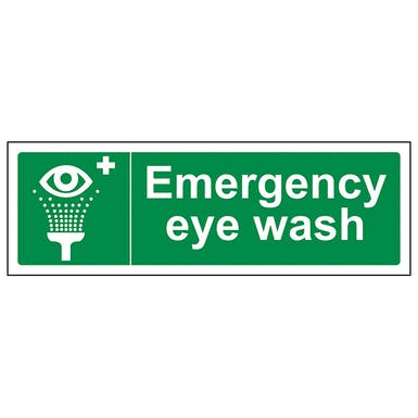 Emergency Eye Wash - Landscape