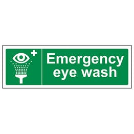 Eco-Friendly Emergency Eye Wash - Landscape