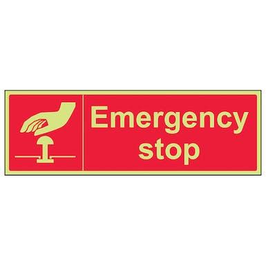 GITD Emergency Stop Red - Landscape