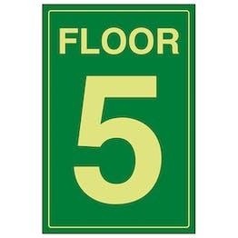 GITD Floor 5 Green