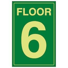 GITD Floor 6 Green