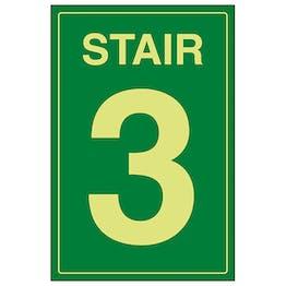 GITD Stair 3 Green