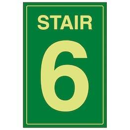 GITD Stair 6 Green