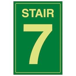 GITD Stair 7 Green
