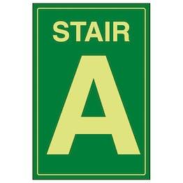 GITD Stair A Green