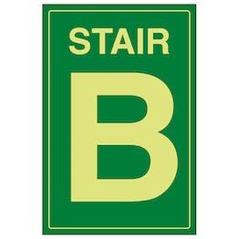 GITD Stair B Green