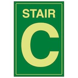 GITD Stair C Green