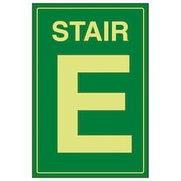 GITD Stair E Green