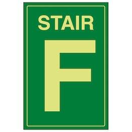 GITD Stair F Green