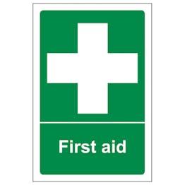 First Aid - Portrait