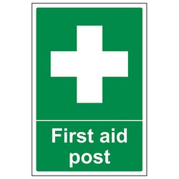 First Aid Post - Portrait