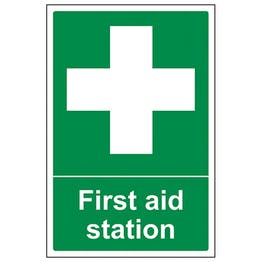 First Aid Station - Portrait
