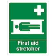 First Aid Stretcher - Portrait