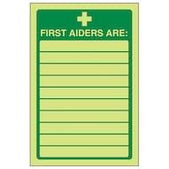 GITD First Aiders