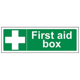 First Aid Box - Landscape
