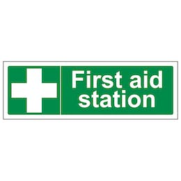First Aid Station - Landscape