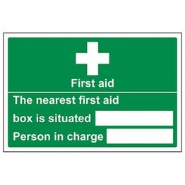 Eco-Friendly The Nearest First Aid Box Is Situated - Landscape