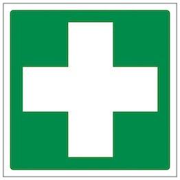 Eco-Friendly First Aid Symbol