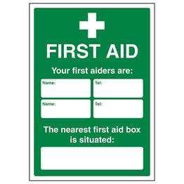 First Aid Your First Aiders Are - A4