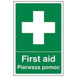 English/Polish - First Aid