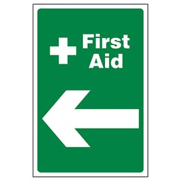 First Aid Arrow Left