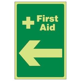 GITD First Aid Arrow Left