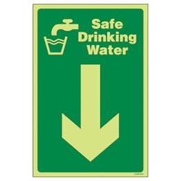 GITD Safe Drinking Water Arrow Down