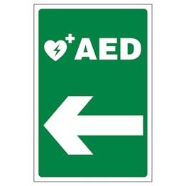 AED Arrow Left