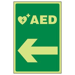 GITD AED Arrow Left