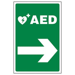 AED Arrow Right