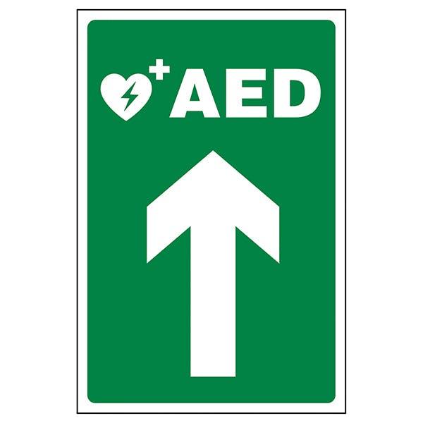 AED Arrow Up