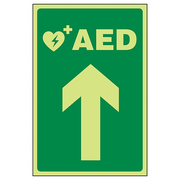 GITD AED Arrow Up