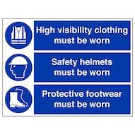 Safety Helmets/High Vis/Protective Footwear