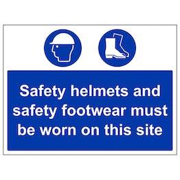 Safety Helmets & Footwear Must Be Worn