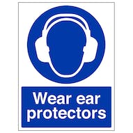 Wear Ear Protectors - Portrait