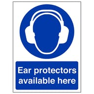 Ear Protection Available Here - Portrait