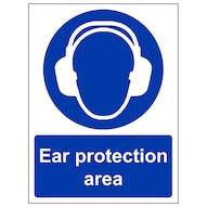 Ear Protection Area - Portrait