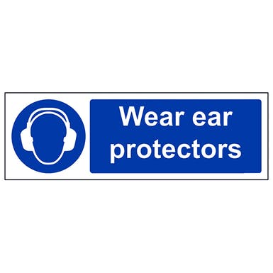 Wear Ear Protectors - Landscape