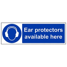 Ear Protection Available Here - Landscape