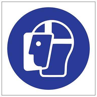 Face Shield Symbol