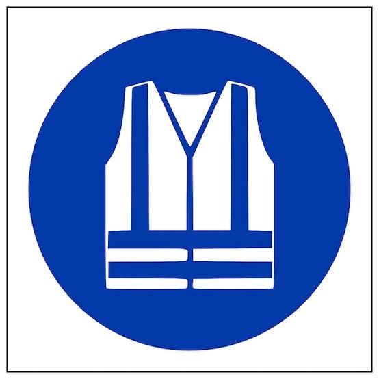 Hi Vis Jacket Symbol