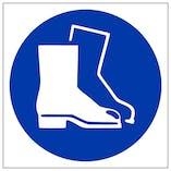 Protective Footwear Symbol