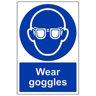 Wear Goggles - Portrait