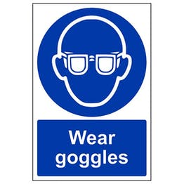 Eco-Friendly Wear Goggles - Portrait