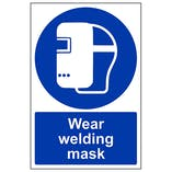 Wear Welding Mask - Portrait